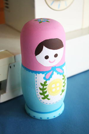 Matryoshka Mother's Day Craft