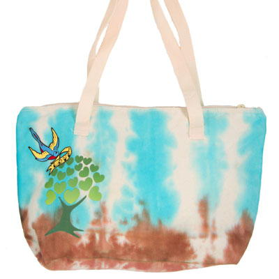 Earth Day Tie Dye Tote