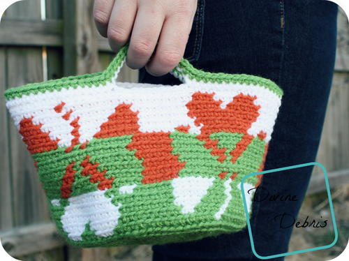 Shamrock Crochet Baskets
