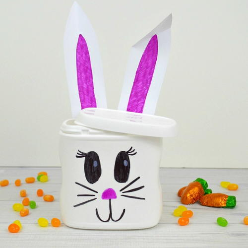 Easter Bunny Recycled Crafts