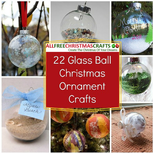 Ball Christmas Ornament Crafts | AllFreeChristmasCrafts.com