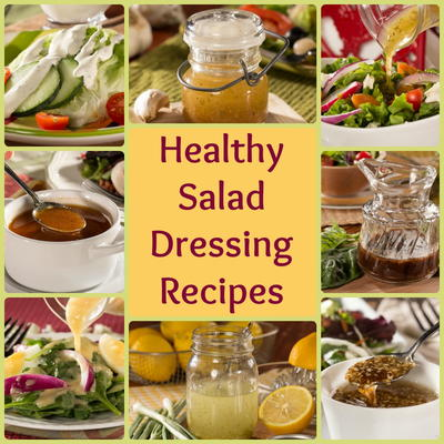 Healthy Salad Dressing Recipes 8 Easy Favorites