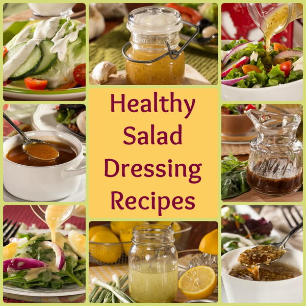 Easy salad and dressing recipes