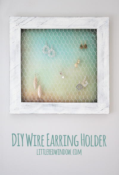 Framed Flair Jewelry Holder