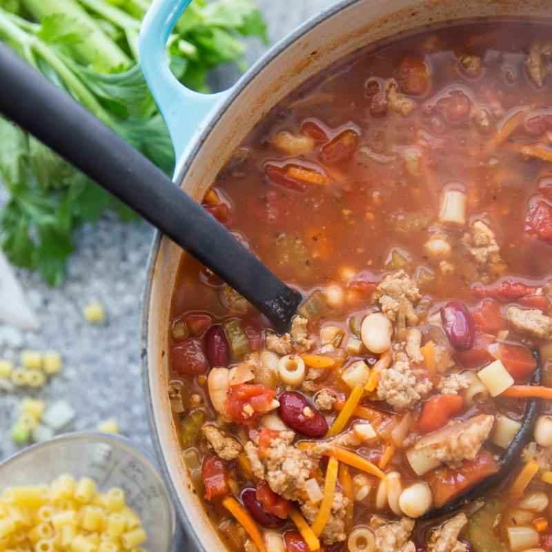 Easy Homemade Olive Garden Pasta E Fagioli