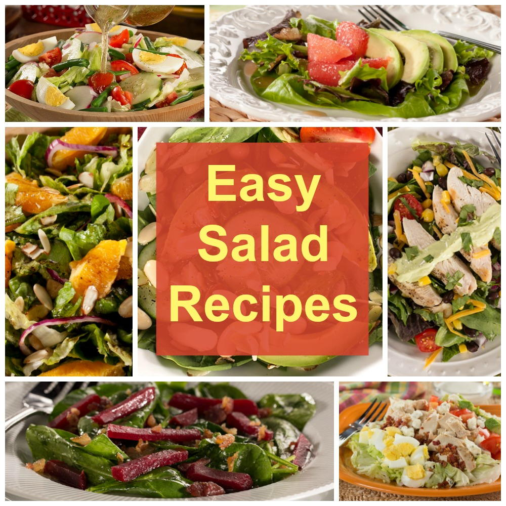 Easy Salad Recipes 14 Of Our Greatest Green Salad Recipes