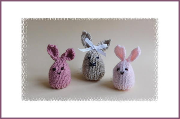 Easter Bunny Egg Cosy