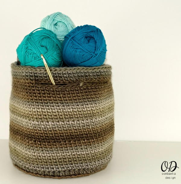 Small Project Yarn Basket