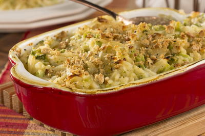 EDR Creamy Broccoli and Hash Brown Casserole