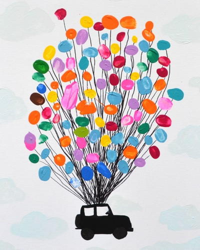 Thumbprint Art for Kids