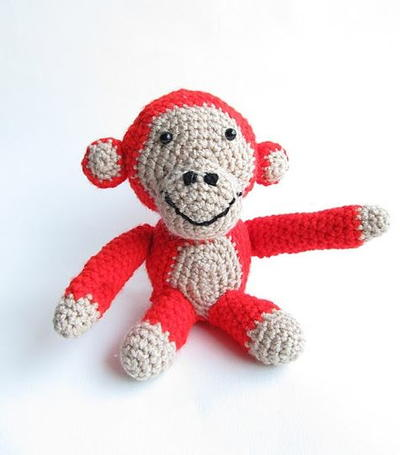 Seriously the Cutest Amigurumi Monkey
