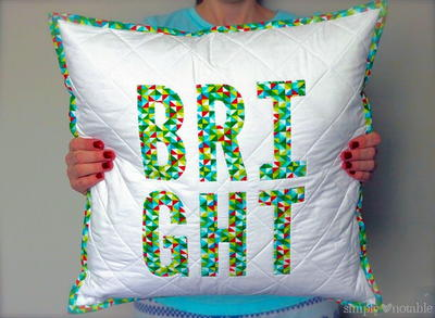 Bright Christmas Pillows