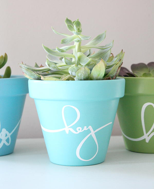 Hello There Flower Pot Crafts