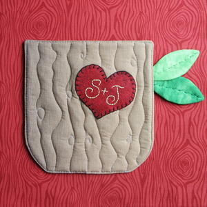 Sweethearts Tree Hot Pad