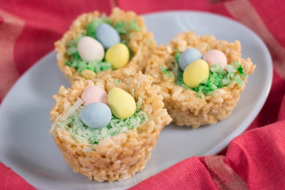 Rice Krispies Nests With Cadbury Mini Eggs Recipelion Com