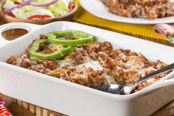 Stuffed Peppers Casserole