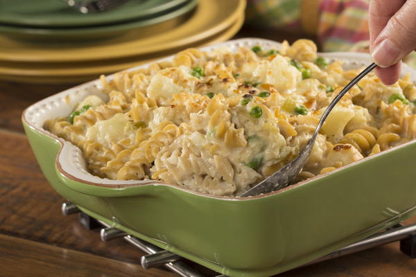 EDR Cheesy Tuna Casserole