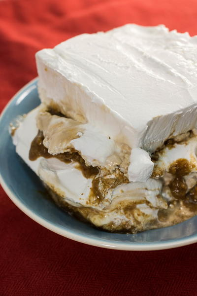 Root Beer Float Lasagna