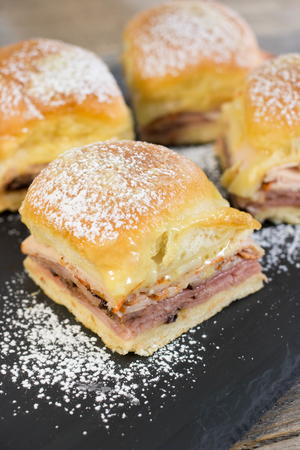 Monte Cristo Brunch Sliders