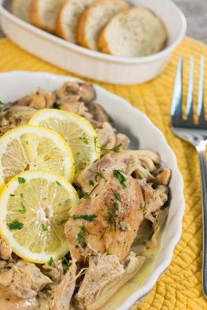 Marlene's Creamy Lemon Chicken Thighs