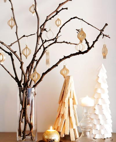 Easy Book Page DIY Ornaments