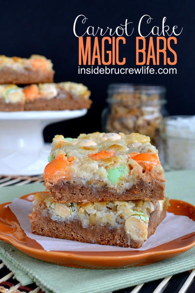 Carrot Cake Magic Bars