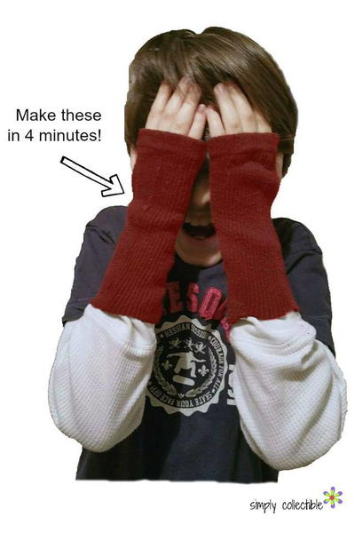 4 Minute Fingerless Gloves