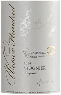 Williamsburg Winery Wessex Hundred Viognier 2014