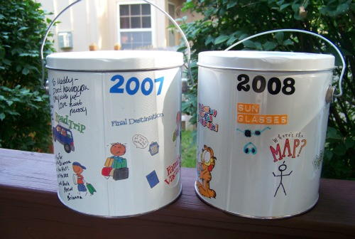 Travel Bucket Kids Craft