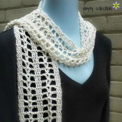 Summer Crush Crochet Scarf Pattern