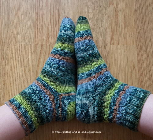 Osterspaziergang Socks