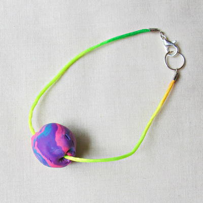 Polymer Clay Bead Friendship Bracelets