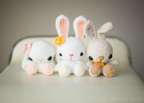 Easter Bunny Crochet Pattern for Kids