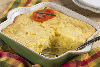 Not-Your-Mamas Corn Casserole