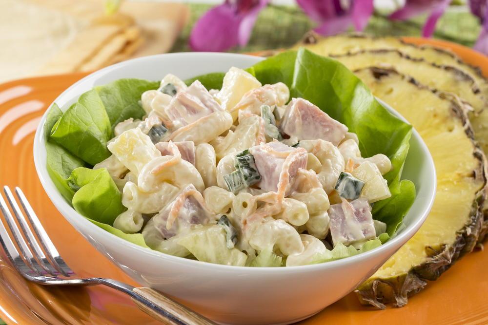 Hawaiian Macaroni Salad | MrFood.com