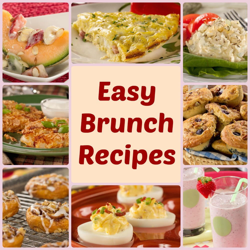 14 Easy Brunch Recipes You Need