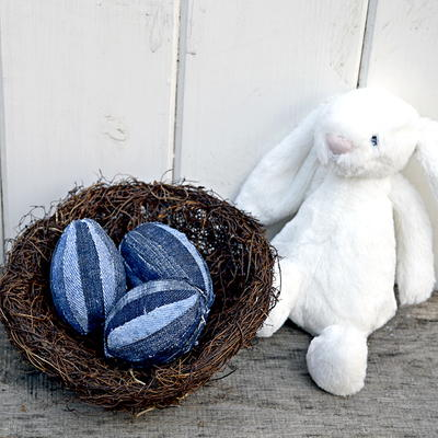 Denim Easter Egg Crafts