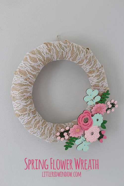 Spring Flower DIY Wreath