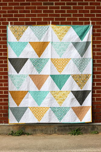 Fat Quarter Flagged Quilt Pattern