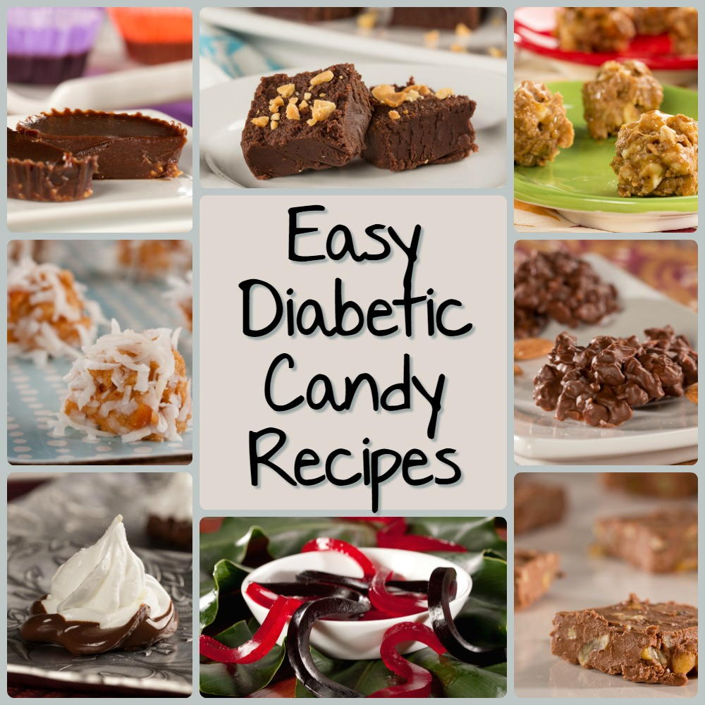 Easy Candy Recipes: 8 Diabetes Candy Recipes Everyone Will ...