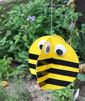 Busy Bee Duct Tape Craft