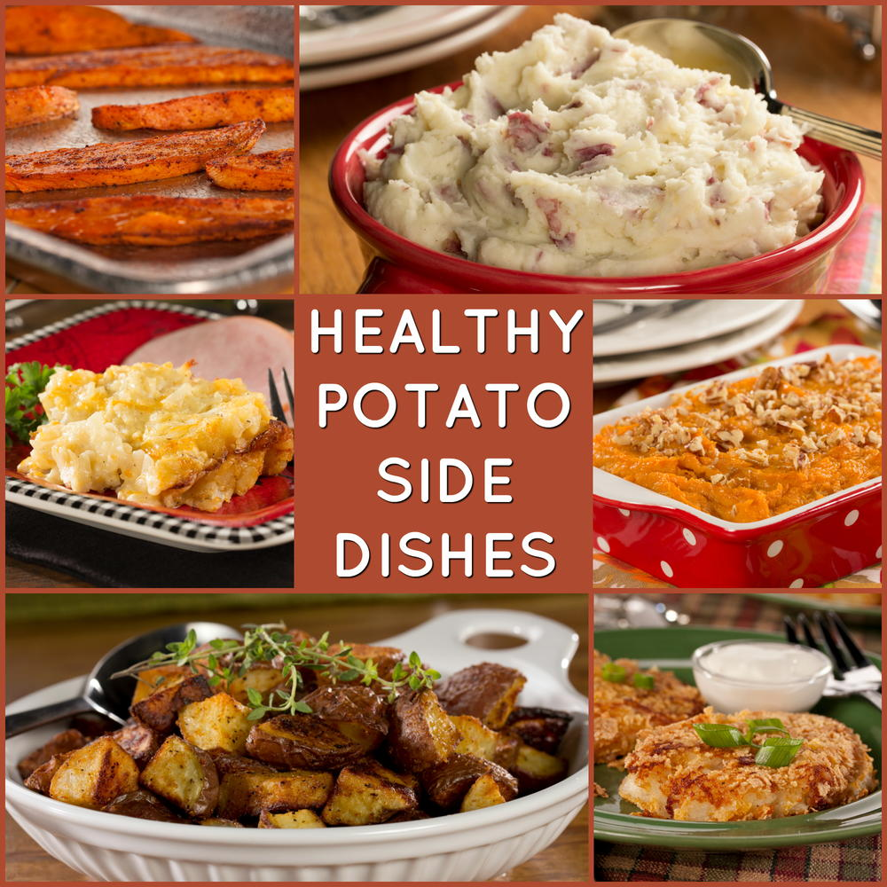 10 Healthy Potato Side Dishes