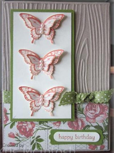 3D Butterfly Birthday Card