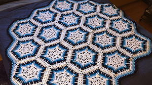 Winter Blizzard Crochet Afghan