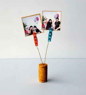 Cork DIY Photo Clips