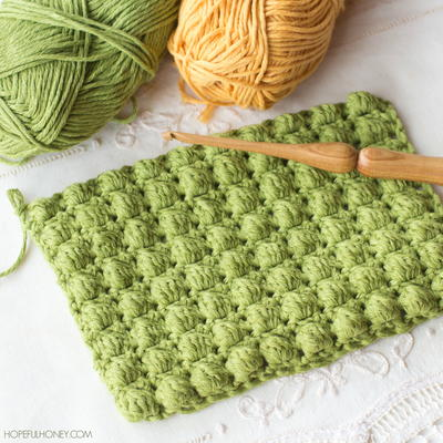 How To Crochet The Bobble Stitch