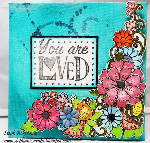 You Are Loved DIY Wall Art