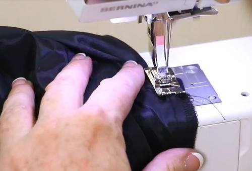 How to Sew Skirt Hem Part 2