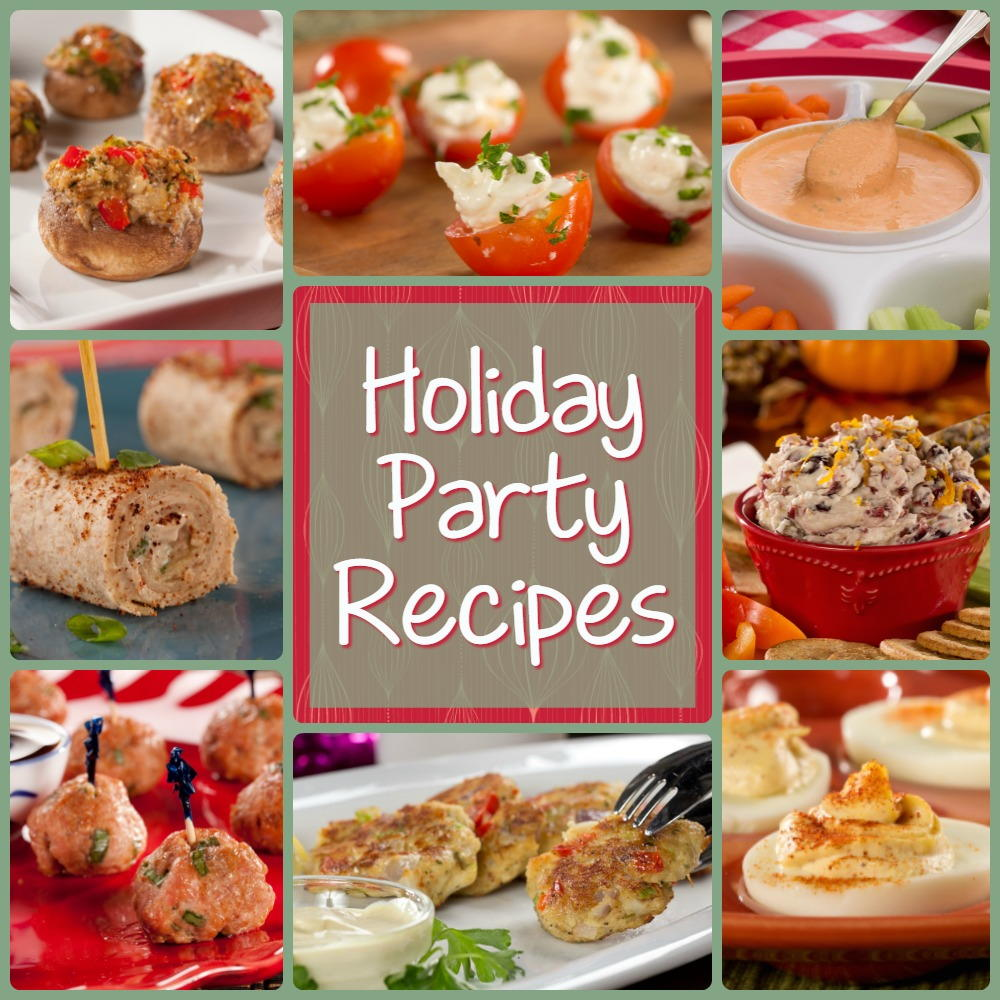 Jolly Christmas Party Recipes: 12 Holiday Party Recipes ...