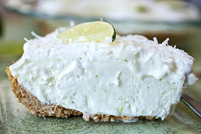 Coconut-Lime Icebox Pie
